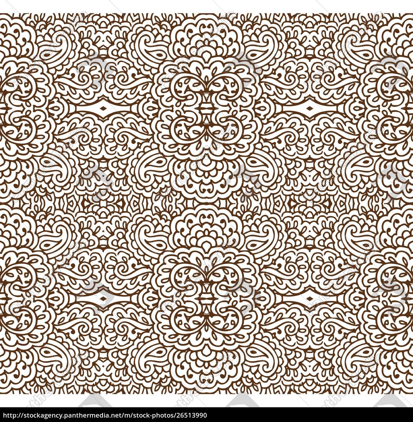 sømløs, sepia, tapet, mønster - 26513990