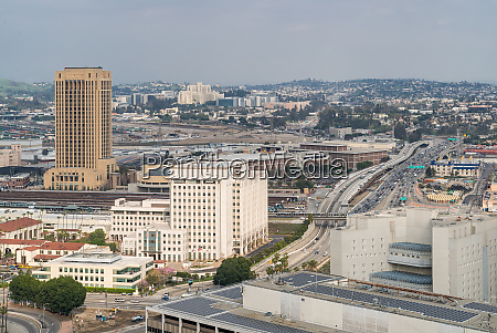 antenne los angeles downtown