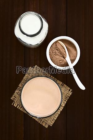 chokolade maelk drink