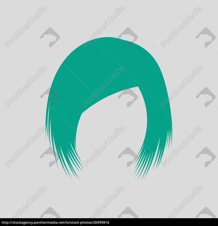 kvinde, hår, kjole - 26999816