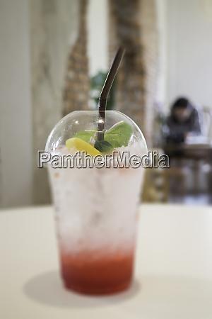 forfriskning drikke med iced mix baer