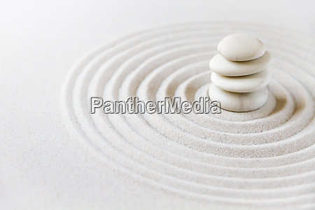 zen japansk have baggrund