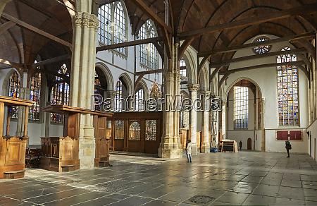 interior of oude kerk old church