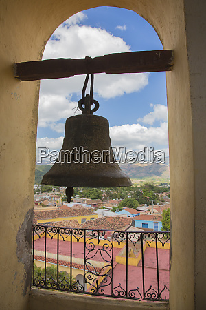 cuba trinidad giant bell and view