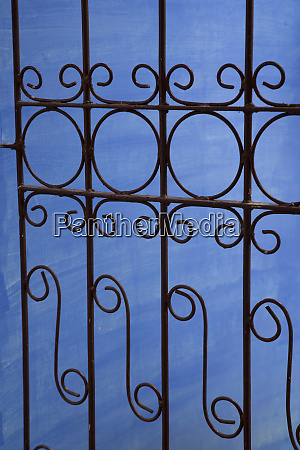 cuba vinales wrought iron gate and