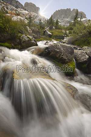 usa californien inyo national forest stream