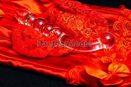 erotisk og vibrator en lingeri