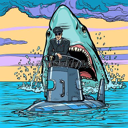kaptajn pa ubaden haj angreb