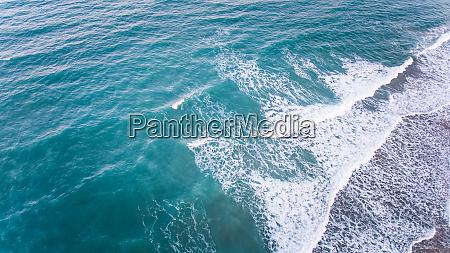 luftfoto af havet i brasilien