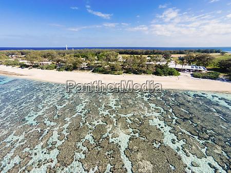 luftfoto af lady elliot island great