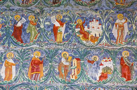 ekstern fresko sucevita kloster 1585 sucevita