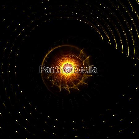 glødende, gyldne, stråler, baggrund., abstrakt, konceptdesign - 27660730