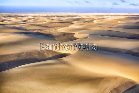 skeleton coast namibia aerial view of