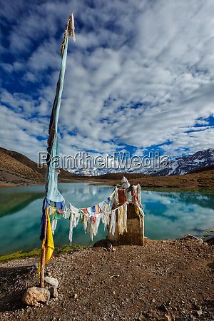 small gompa at dhankar lake