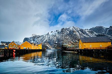 nusfjord fishing village in norway