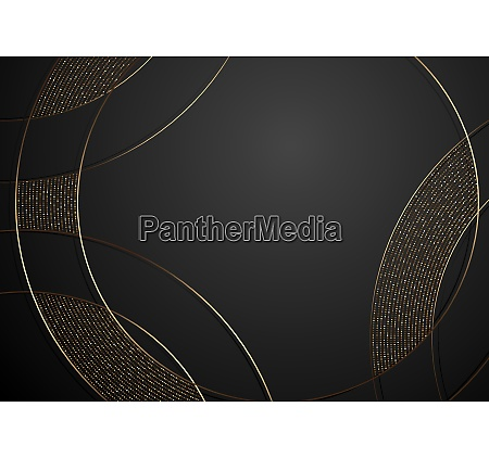 gold and black abstract luxury background