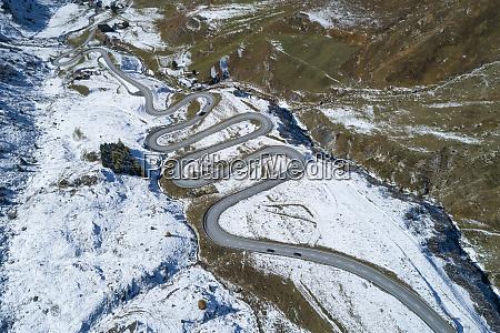 schweiz canton of grisons drone udsigt