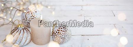 hvid juledekoration