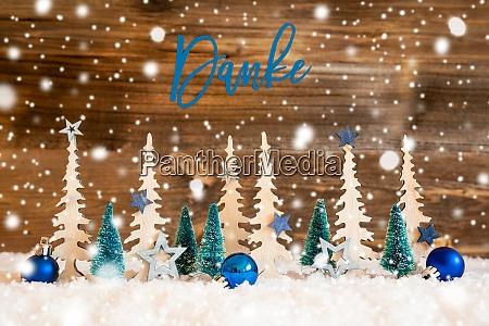 juletrae snefnug bla stjerne danke betyder