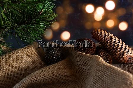naturlig juledekoration