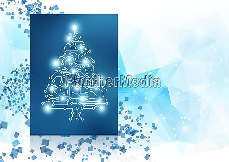 vinter baggrund design koncept med christmans