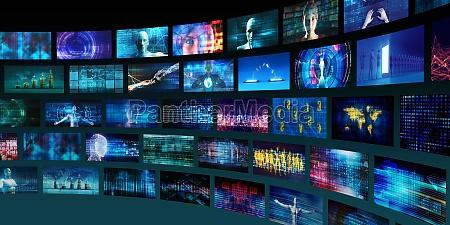 teknologi abstrakt baggrund
