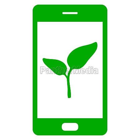 anlaeg og smartphone