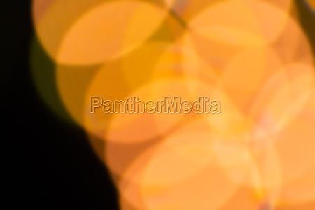 abstrakte gule lys