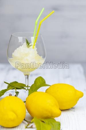 stilleben, med, citronsorbet - 29619014