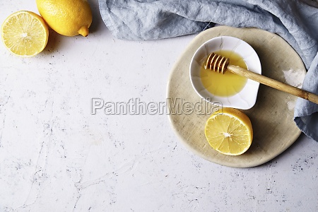 billede i topvisning af citron og