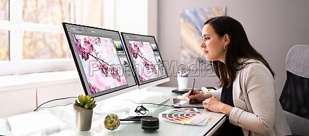 grafisk webdesigner