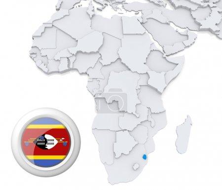 background, flag, map, Africa, algeria, egypt - B28739841