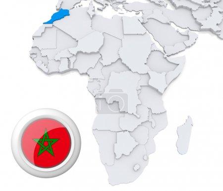 background, flag, map, Africa, algeria, egypt - B28738123