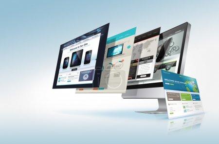 computer, background, object, element, illustration, design - B18177429