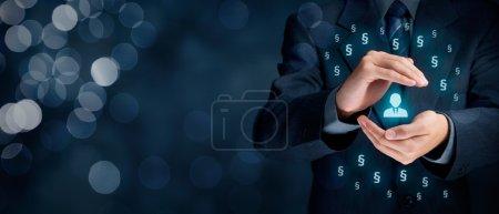 baggrund, business, person, en, mennesker, mand - B108368960